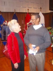 grandma and mike :)