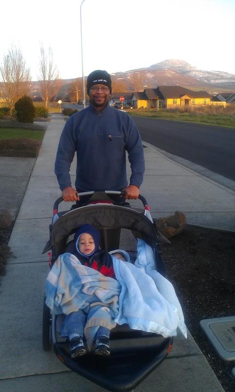 daddy walk