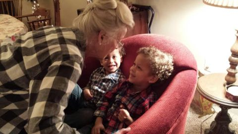 thanksgiving ... and their great grandma :)